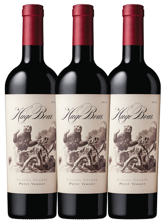 Huge Bear Petit Verdot Trio